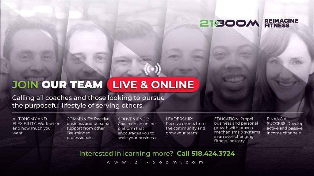 The 21BOOM Coaching Platform